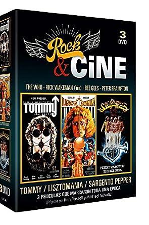 Pack Rock & Cine [DVD]: Amazon.es: Ann Margret, Elton John, Eric ...