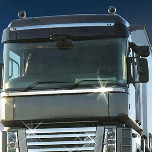 adesivi protettivi a strisce da 10 m x 50 mm Truck-Duck Strisce adesive universali effetto cromato per auto e moto