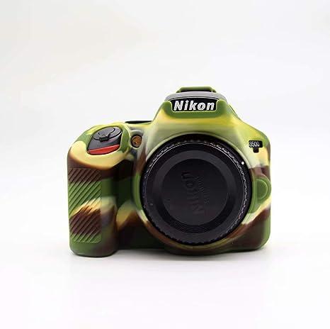 1 Funda Protectora de Silicona Suave para cámara Nikon D3500: Amazon.es: Electrónica