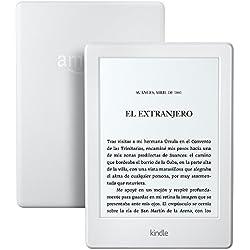Kindle batería que dura semanas, color Blanco, Wi-Fi, 2016, 8ª generación