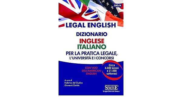 Dizionario giuridico simone online dating