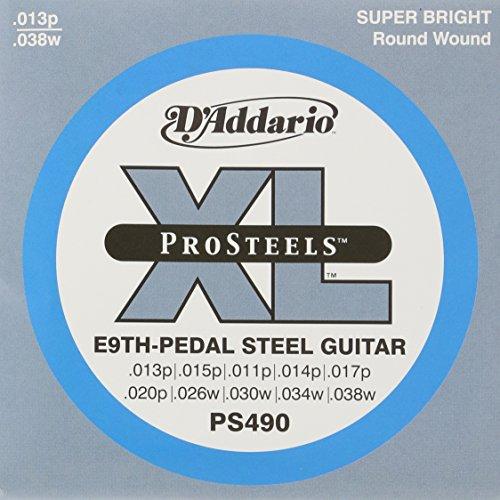 D'Addario PS490 Pedal Steel Strings, E-9th