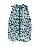 Kickee Pants Little Girls Print Lightweight Sleeping Bag - Natural Elephants, 18-36 Months