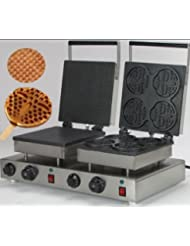 Changlong Instrument NP 575 Commercial Electric Rectangle Waffle Maker Iron Machine Waffle Baker 110v 220V