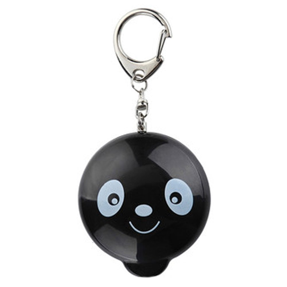 Womens/Kids Emergency Self-Defence Personal Security Keychain Alarm, Black Panda Kylin Express