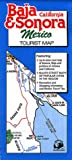 Baja California & Sonora, Mexico Tourist Map