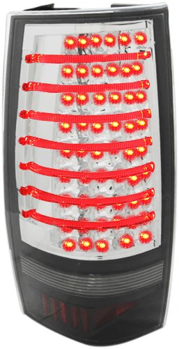 Redlines Chrome LED Tail Lights for Chevy Tahoe/GMC Yukon...