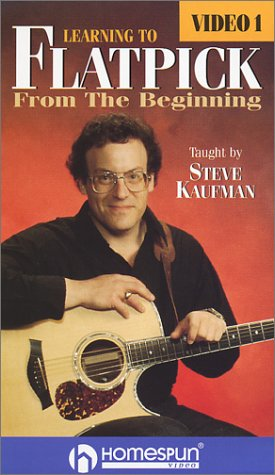 Guitar Techniques 1 Vhs (Steve Kaufman: Learning to Flatpick 1 [VHS])