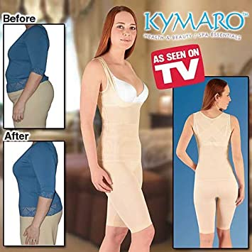 0a2fd41b1 Amazon.com  Large Nude Kymaro New Body Shaper 36 C   D and 38 a   B ...