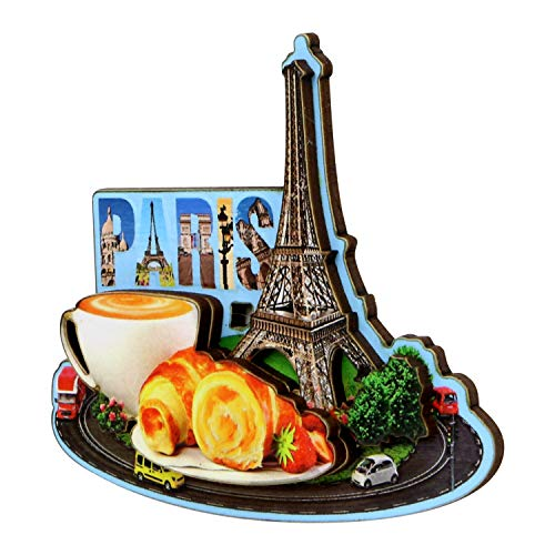 - Eiffel Tower Paris Magnet French Design and Street