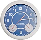 Thomas 1071 Traceable Clock with Thermometer and Humidity, 12-1/2'' Diameter, 10 to 130 degree F, -20 to 55 degree C