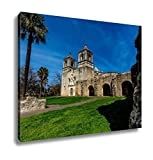 Ashley Canvas The Historic Spanish Mission Concepcion, Kitchen Bedroom Living Room Art, Color 24x30, AG6515821