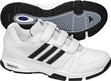 adidas Herren Schuhe BARRACKS F9 CF weiß, Größe:UK 10.5 (45