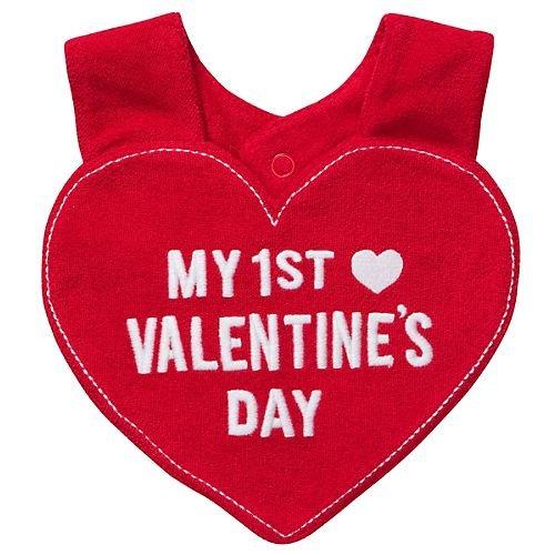 amazoncom carters bib my 1st valentines day one size baby - First Valentines Day