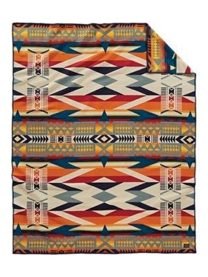 Pendleton Fire Legend Knit Blanket, Sunset, Twin