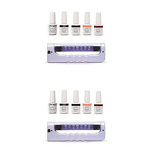 MRT SUPPLY Mini Botellas 5 Colores UV LED Gel Esmalte de uñas Kit ...