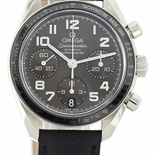 Omega Speedmaster automatic-self-wind womens Watch 324.30.38.40.06.001 (Certified Pre-owned)