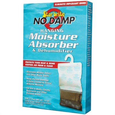 AMRS-85470.125 * Starbrite No Damp Hanging Moisture Absorber & Dehumidifier (3 Count) by Star Brite