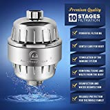 AquaHomeGroup Shower Water Filter Multi-Stage - 2 Cartridge Included - Removes Chlorine, Impurities, Unpleasant Odors - Boosts Skin and Hair Health - For Any Shower Head and Handhe