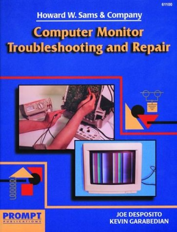 Price comparison product image Computer Monitor Troubleshooting and Repair