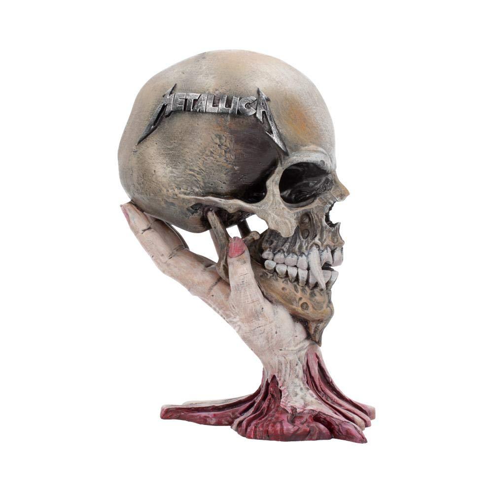 Nemesis Now Metallica Sad But True Skull 22cm, us:one Size, Taupe