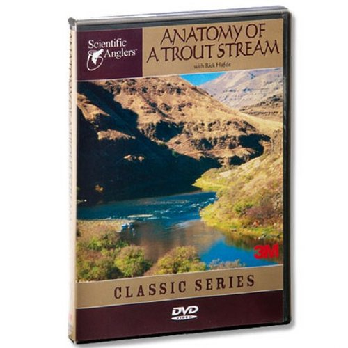 Scientific Anglers Anatomy of a Trout Stream DVD Video Fly Fishing Guide from Angler's Book Supply