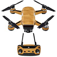 Skin for DJI Spark Mini Drone Combo - Birch Grain| MightySkins Protective, Durable, and Unique Vinyl Decal wrap cover | Easy To Apply, Remove, and Change Styles | Made in the USA