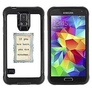 "Pulsar iFace Series Tpu silicona Carcasa Funda Case para Samsung Galaxy S5 V , Amor lindo marco Pareja Blanca"""