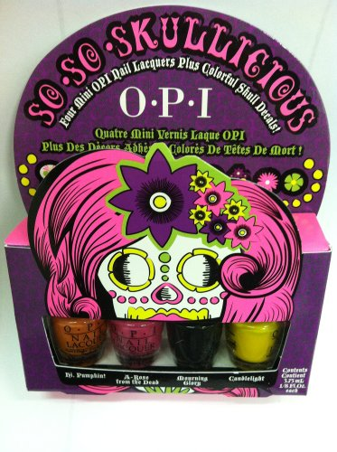 OPI So So Skullicious Mini Bottle Nail Polish Set