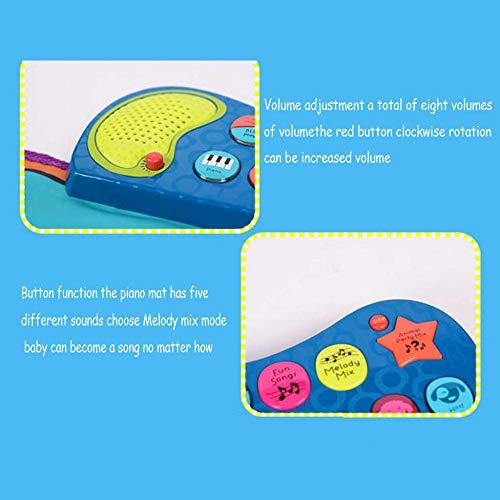 QXMEI Children's Music Piano Blanket Sports Fitness Blanket Dance Mat Fun Games by QXMEI (Image #4)