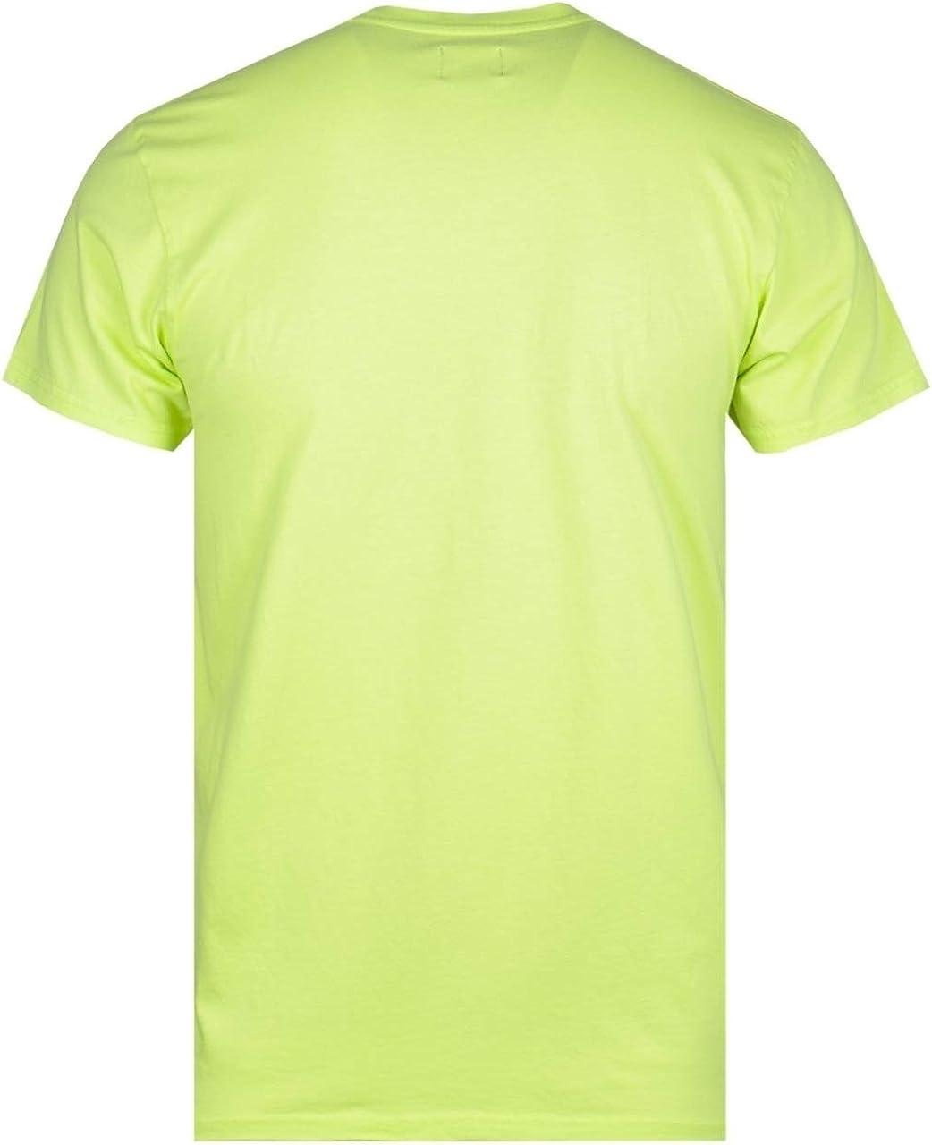 Edwin Lime Green Garment Washed Pocket Tee