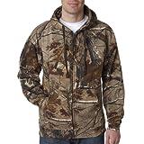 Code V REALTREE Zipper Hooded Sweatshirt - Realtree Ap HD - M