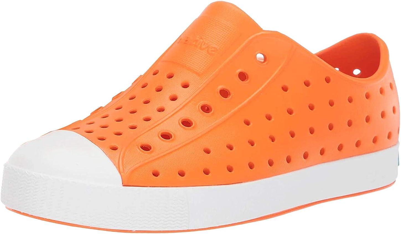 Native Shoes Jefferson (Little Kid/Big Kid) City Orange/Shell White 2 Little Kid M