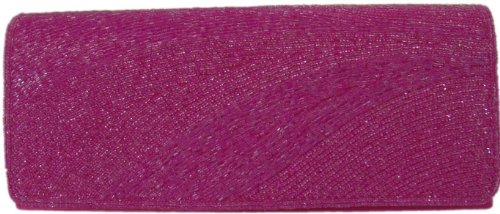 DIVA-MODE - Cartera de mano de poliéster para mujer rosa rosa Mittel