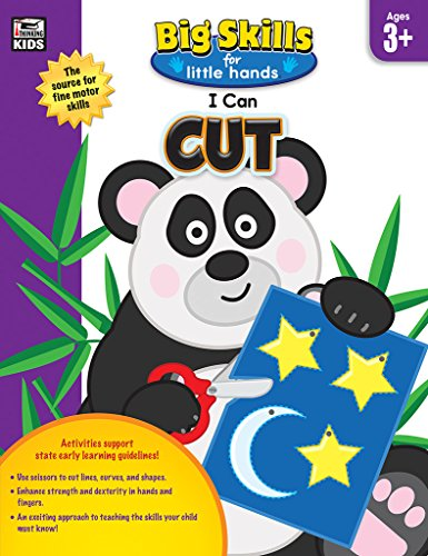 I Can Cut, Grade Preschool (Big Skills