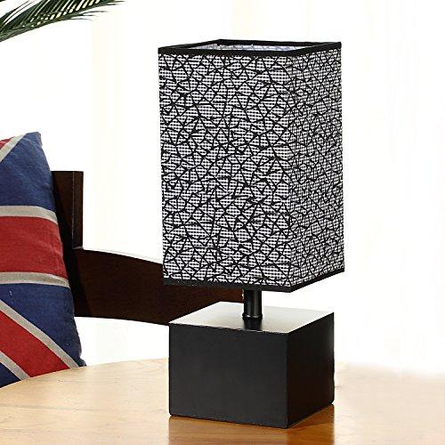 Tischlampe, Nachttisch Minimalistische Stoff Schreibtischlampe ...