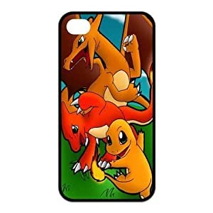 6 plus 5.5 Case, iPhone 6 plus 5.5 Case - Fashion Style New Pokemon Pikachu Painted Pattern TPU Soft Cover Case for iPhone 6 plus 5.5(Black/white)