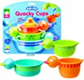 Alex Jr Tub Joy Quacky Cups Bath Toy Colors May Vary by Alex Jr.