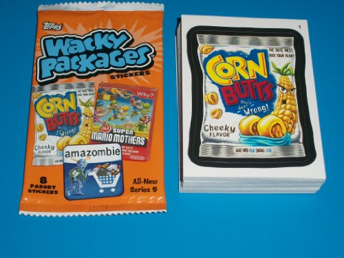 Wacky Packages All New Series 9 Complete SET 55/55 for sale  Delivered anywhere in USA