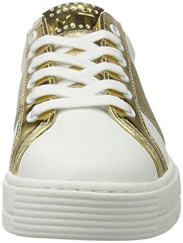 gold Zapatillas para Marco Blanco Mujer 172 Tozzi White 23719 0qwxfT