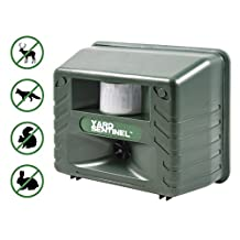 Yard Sentinel - Electronic Ultrasonic Pest Repeller Animal Control, Pest Control, Cat Repellent, Sound Frequency: 15kHz-20kHz, Dog Repellent, Deer Repellent, Mice Repellent, Bird Repellent with Motion Sensor - Pest Control against all Animals: Racoons, Skunk, Deer, Rabbit, Rats, Mouse, Cockroaches, Rodents, Flies, Ants, Fleas, Mice, etc - Green Color