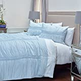 Rizzy Home QLTBT3043IB001692 Quilt, Spa Blue, King