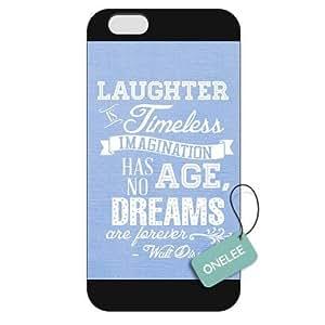 Diy For SamSung Galaxy S6 Case Cover Walt Disney Quotes Diy For SamSung Galaxy S6 Case Cover Hard Plastic - Black 04