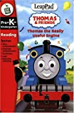 LeapFrog LeapPad Educational Game: Thomas the Really Useful Engine. BOOK and CARTRIDGE that are only for the Original Leappad learning system, not compatible with the Leappad Explorer Tablet.