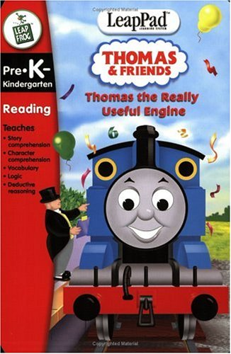 LeapFrog LeapPad Educational Game: Thomas the Really Useful Engine. BOOK and CARTRIDGE that are only for the Original Leappad learning system, not compatible with the Leappad Explorer Tablet. by LeapFrog (Image #1)