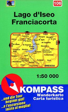 106: Lago D' Iseo Franciacorta 1:50, 000 PDF