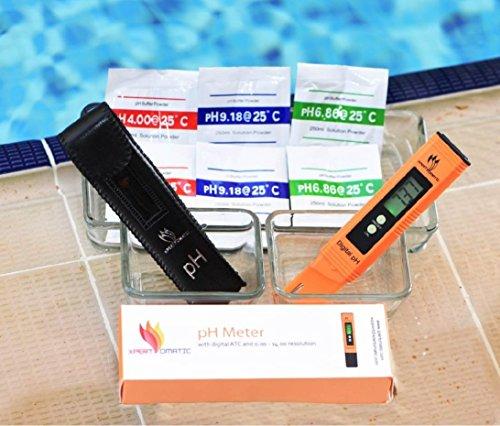 Blowout Offer Digital Ph Meter Kit High Accuracy Ph Tester Range 0 14 Hydroponics