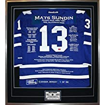 Mats Sundin Career Jersey #1 of 199 - Autographed - Toronto Maple Leafs