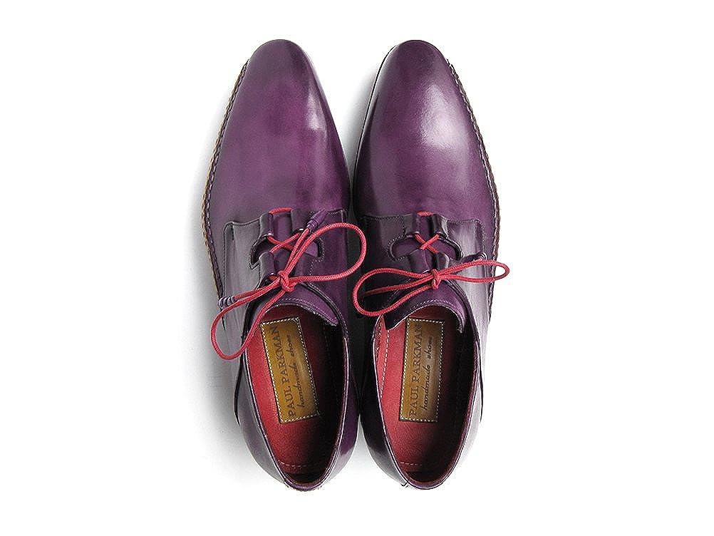 Paul Parkman - Mocasines para Hombre Morado Morado: Amazon.es: Zapatos y complementos