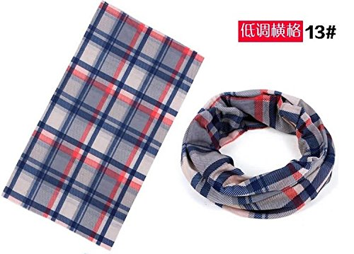 Domire New Design Seamless Outdoor Sport Bandanna Headwrap Head Wear Magic Headband Scarf Wrap (Multi Magic Scarf)